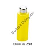 Silindir tip plastik şişe 70 ml